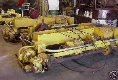 (584) QTY: 1 - Conco/Whiting  5 Ton Top Running Wire Rope Hoist