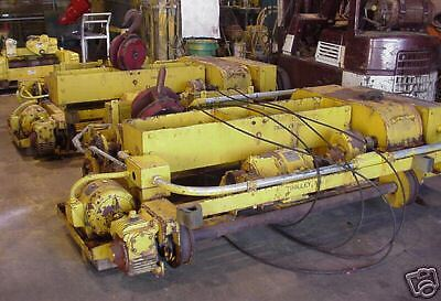 QTY: 1 - Conco/Whiting  5 Ton Top Running Wire Rope Hoist