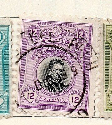 Peru 1918 Early Issue Fine Used 12c. 170597