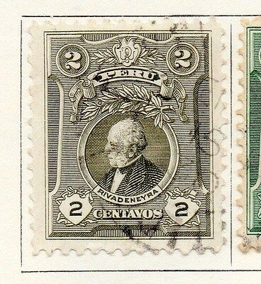 Peru 1924 Early Issue Fine Used 2c. 170615