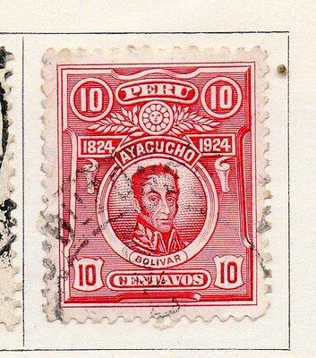 Peru 1924 Early Issue Fine Used 10c. 170623