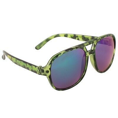 Creature CABANAZ CREEPER Skateboard Sunglasses GREEN TORTOISE