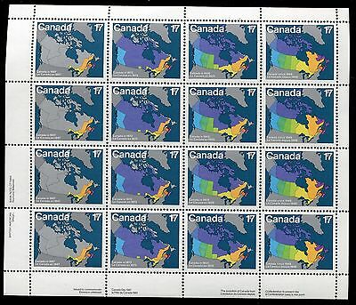CANADA SOUVENIR SHEET WHOLESALE LOT - #890 -93 MNH ** 10 Sheets ** - O29