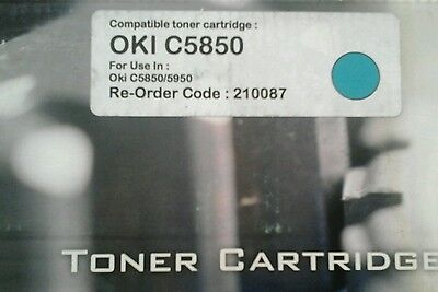 COMPATIBLE TONER CARTRIDGE for use in OKI C5850 C5950 Black/Cyan/Magenta/Yellow