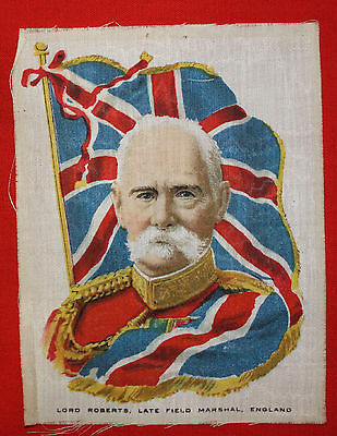 LORD ROBERTS, Late Field Marshal, England Silk Print (British Army 1851-1904)