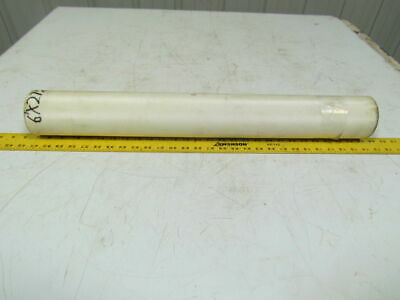 "2 Ply White Grip Top Conveyor Belt Nylon Back 6Ft X 27-1/4"" 0.093"" Thick"