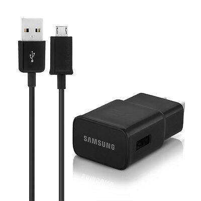 5FT OEM Samsung Galaxy S6 S7 Edge Note 4 Note 5 Adaptive Fast Rapid Wall Charger