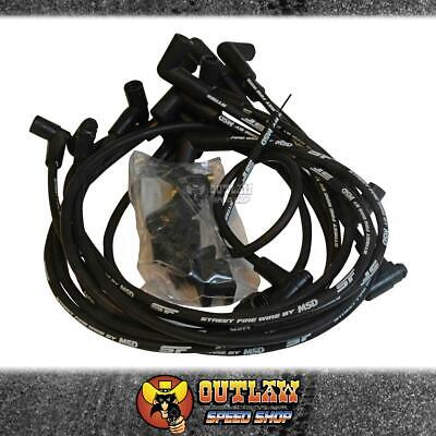 Msd Streetfire Ignition Lead Set Suit Small Block Chev Hei Distributor - Msd5554