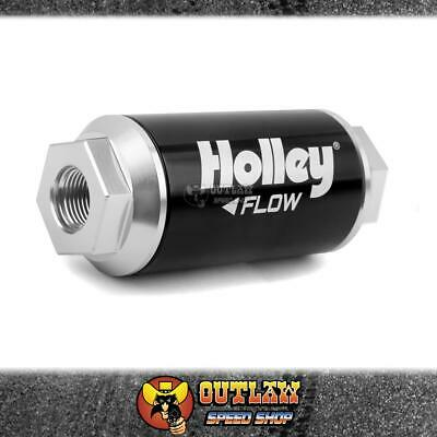 Holley Fuel Filter 10 Micron 175 Gph Suit Efi - Ho162-554