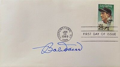 Bob Doerr Boston Red Sox Signed First Day Cover