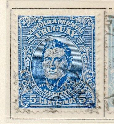 Uruguay 1912-15 Early Issue Fine Used 5c. 170347