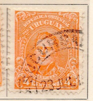Uruguay 1912-15 Early Issue Fine Used 4c. 170346