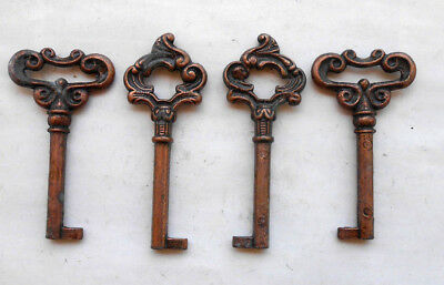 (4)  Furniture  Cabinet   Desk   Drawer   Keys   very nice     FREE SHIPPING