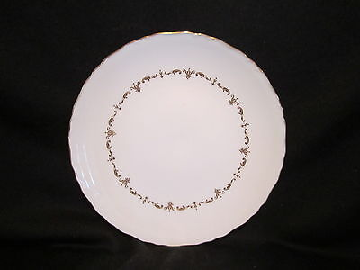 Royal Worcester - GOLD CHANTILLY - Round Cake Plate - BRAND NEW