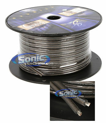 Stinger SHW512G 100 ft. Roll of HPM 12 Gauge Matte Gray Power/Ground Cable