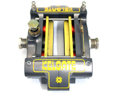 Kelgate KA4 4 Pot Adjustable Caliper Brake System with Red Pads UK KART STORE
