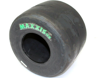 Maxxis TKM Slick New Age Green Label Rear Tyre Only UK KART STORE