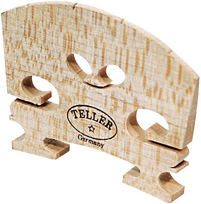 Violin Bridge - Aubert Model. Shaped And Fitted. 4/4 (Bowed Accessories - Bridge