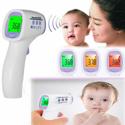 Baby Safety Digital Body Forehead Ear Infrared Non-Contact Fever Thermometer