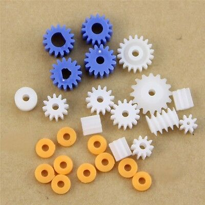 16 Kinds Plastic Shaft Gears Spindle Gears Gear-B 2MM 2.3MM 3MM 3.17MM 4MM Worm
