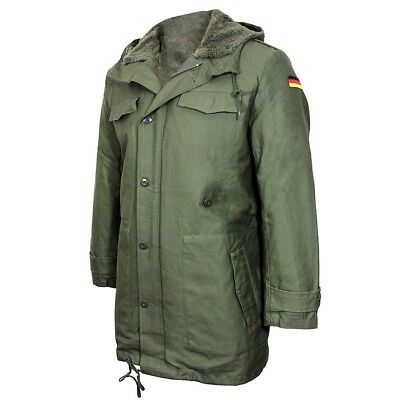 Repro GERMAN ARMY PARKA with Removable Liner - OLIVE GREEN Jacket - All Sizes