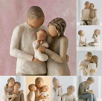 Willow Tree Relationship Family Children Collection Figurine Figures Ornaments