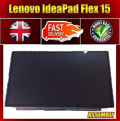 "15.6"" Lenovo Flex15 Touch Glass Digitizer LCD Screen Assembly without frame"