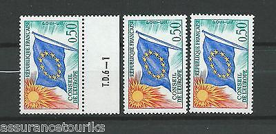 FRANCE SERVICE - 1963-71 YT 33 3x - TIMBRES NEUFS** LUXE