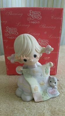 Enesco Precious Moments 2005 May Your Holidays Be So-Sew Special Figurine