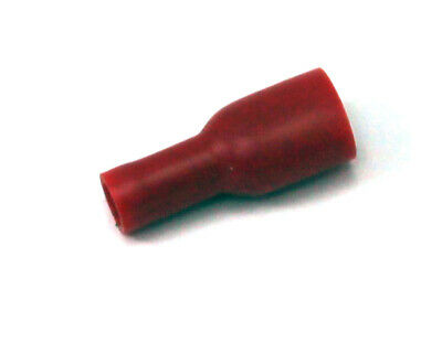 Female Spade Connector Red UK KART STORE