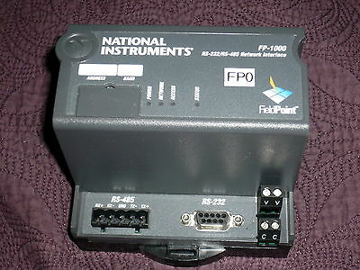 National Instruments FP-1000 RS232 and RS485 Network Interface for FieldPoint
