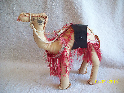 Handmade Camel from the Middle East~Made of Vinyl, Hand Stitched & Painted
