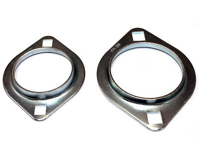 Bearing Carrier 30mm Circle Type 2 Bolt Fixing (Pair) UK KART STORE