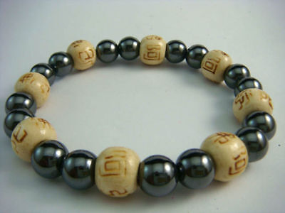 Karmalogy Bracelets Hematite - Happiness & Strength+Box