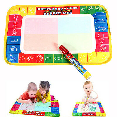 Water Writing Drawing Mat Board Painting Magic Pen Doodle Children Toys Kid Gift