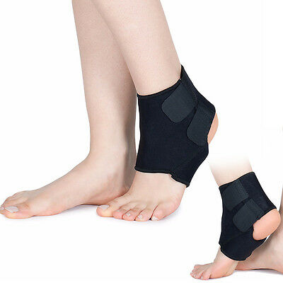 Neoprene Ankle Support Compression Achilles Tendon Brace Strap Sprain Protector