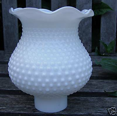 Vintage Chandelier White Milk Glass Light Lamp Shade