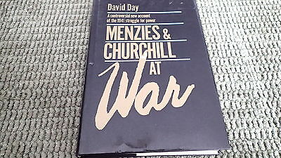 WW2 Australian British Menzies and Churchill at War Reference Book
