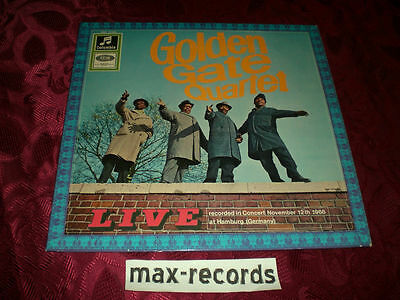 "Golden Gate Quartet (Lp) -  ""live"" [White Columbia] M-"