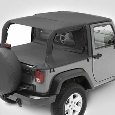 Jeep Wrangler JK 2türer Safari Header Bikini Top Black Diamond Bestop 07-09