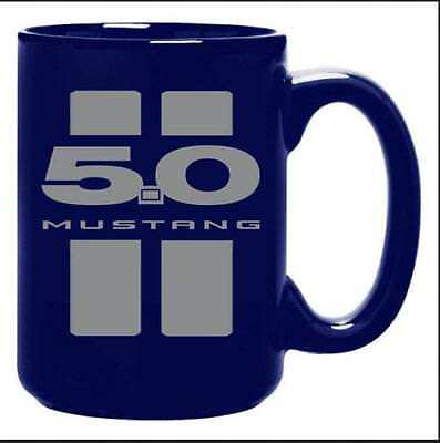 Ford Mustang 5.0 Pony Car Kaffeetasse XL 0,4 ltr.,Coffee Mug,offic.license,Neu