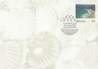 (46598) CLEARANCE Australia FDC Postal Stationery 23 August 1989