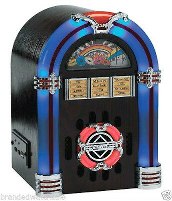 steepletone SUB-L.E.D MINI jukebox amplifier mp3/ipod/iphone/android 'DARK'