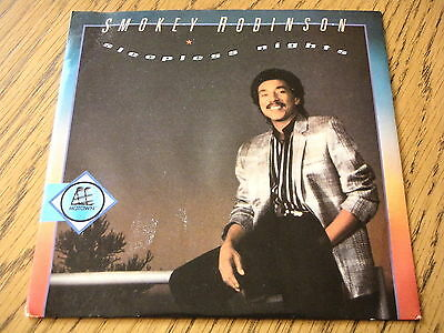 "Smokey Robinson - Sleepless Nights  7"" Vinyl Ps"