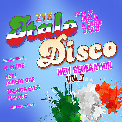CD ZYX Italo Disco New Generation Vol.7 von Various Artists  2CDs