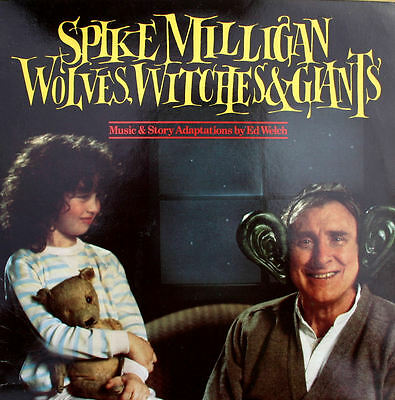 Spike Milligan Wolves Witches & Giants 1984 2xLP