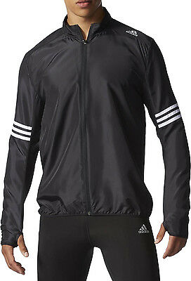 Adidas Response Wind Mens Running Jacket - Black