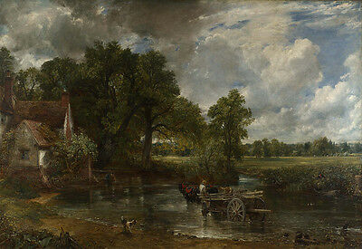 John Constable - The Hay Wain Vintage Fine Art Print