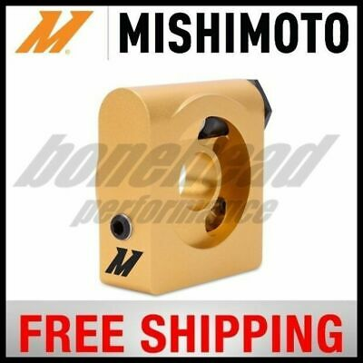 Mishimoto Oil Sandwich Plate with Rear-Mounted Thermostat