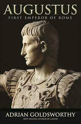 Augustus: First Emperor of Rome by Adrian Goldsworthy Paperback Book (English)